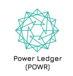 Power ledger powr crypto c vector
