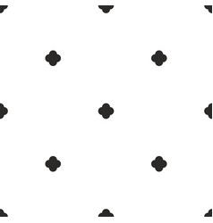 tile black and white background or seamless vector image