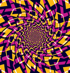 Whirly abstract background vector image