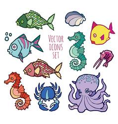 animals - marine life vector image