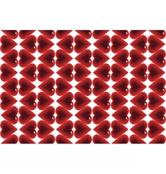 Abstract pattern love vector image