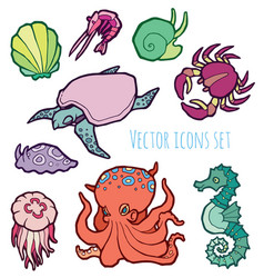Animals - marine life vector