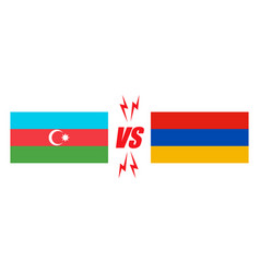 Azerbaijan vs armenia vector