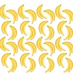 Banana fruits background design vector