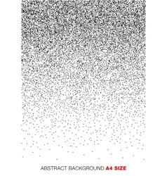 Gradient Halftone Dots Background a4 format vector