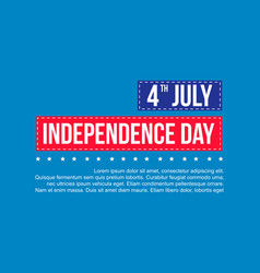 Happy independence day theme background vector