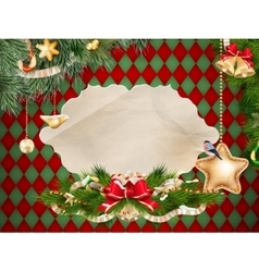 Holidays Card EPS 10 vector image