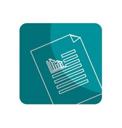 Logotype business statistics strategy data vector