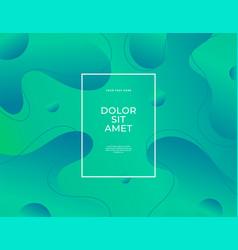 modern abstract banner set flat liquid blob vector image