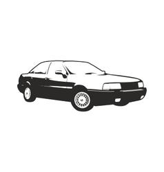 Sedan car vector