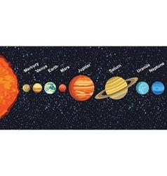 Solarsystem vector