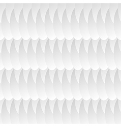 white geometric pattern vector image