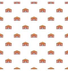 Education centre pattern cartoon style vector
