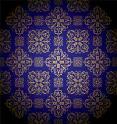 golden royal vector image vector image