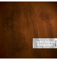 Grunge Dark Background vector image vector image