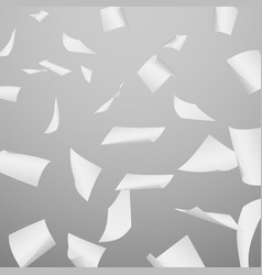 abstract background with flying falling vector image vector image