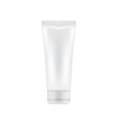 plastic package for cream or lotion vector image
