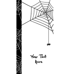 spiders web elements vector image