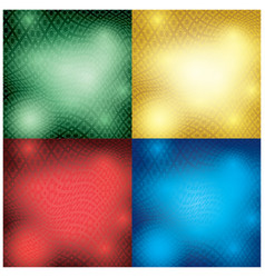 abstract backgrounds with distorted ornament vector image