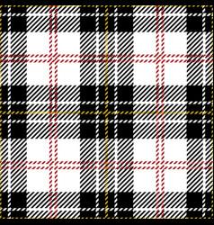 Clan macpherson scottish tartan plaid vector