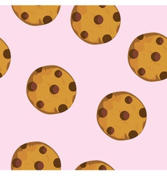 Cookie seamless vector