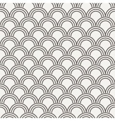 Seamless pattern in the form of flakes vector