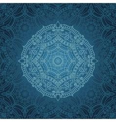 Mandala patternOrient ethnic background vector image vector image