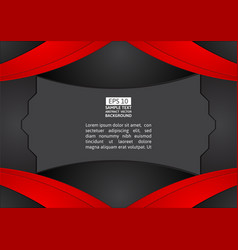 red and black color abstract background graphic vector image vector image