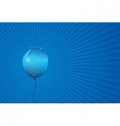 single balloon vector image vector image