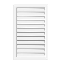close window frame icon cartoon style vector image