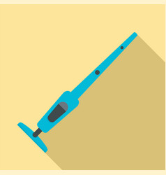 modern vacuum cleaner icon flat style vector image