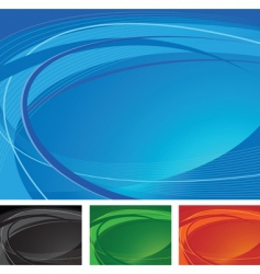 swirling background vector image