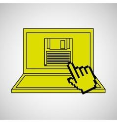 technology e-commerce buy online vector image