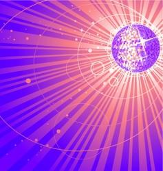 abstract shining vector image vector image