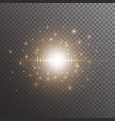 bokeh background with star light vector image vector image