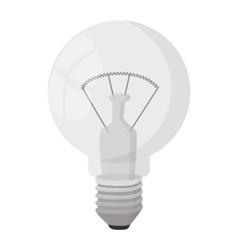 Bulb icon cartoon style vector image vector image