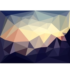 low poly background Abstract backgrounds vector image