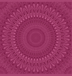 Colored mandala star ornament background - round vector