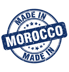 Made in morocco vector
