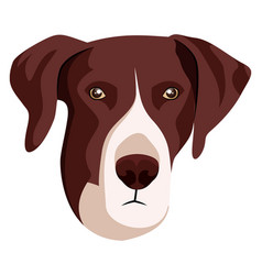 Pointer on white background vector