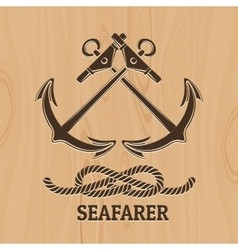 Seafarer Club Emblem vector