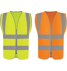 safety vests vector image