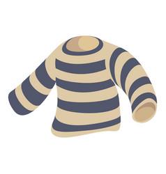 seaman clothes icon cartoon style vector image
