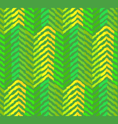 Abstract green coniferous forest pattern vector