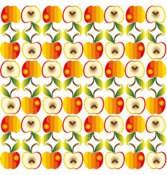 abstract texture apple vector image