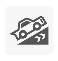car dashboard symbol vector image