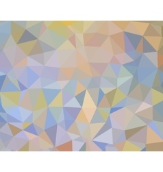 Flat abstract background with triangles vector