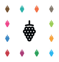 Isolated dewberry icon blackberry element vector