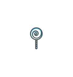 Jawbreaker icon design gastronomy icon vector