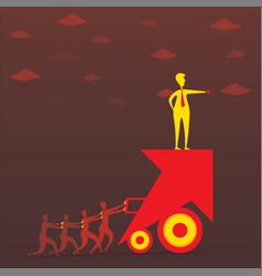 leadership concept design vector image